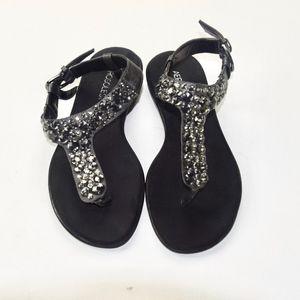 Aerosoles Sparkly Jeweled Slingback Sandals